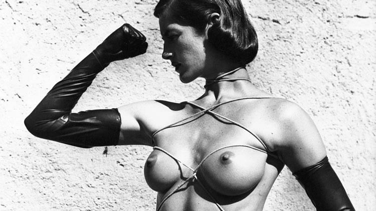helmut newton bondage