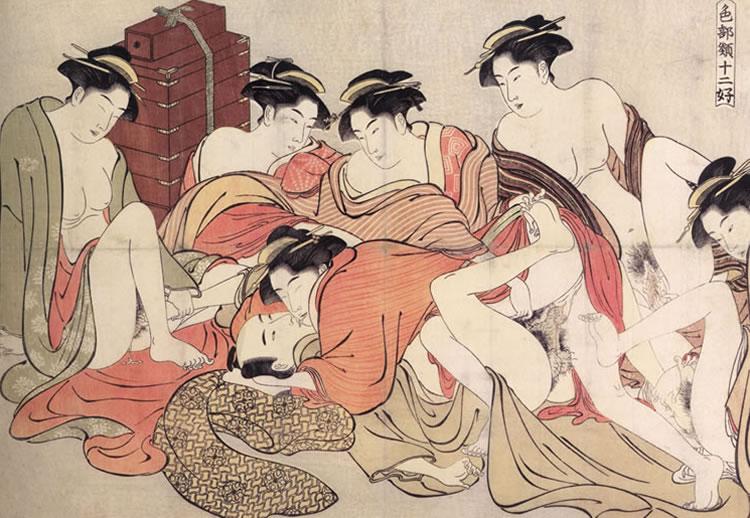 shunga orgía