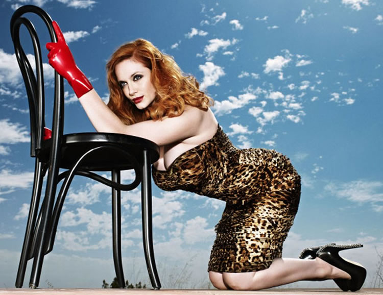 christina hendricks culo