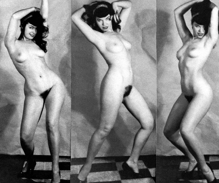 bettie page bailando desnuda