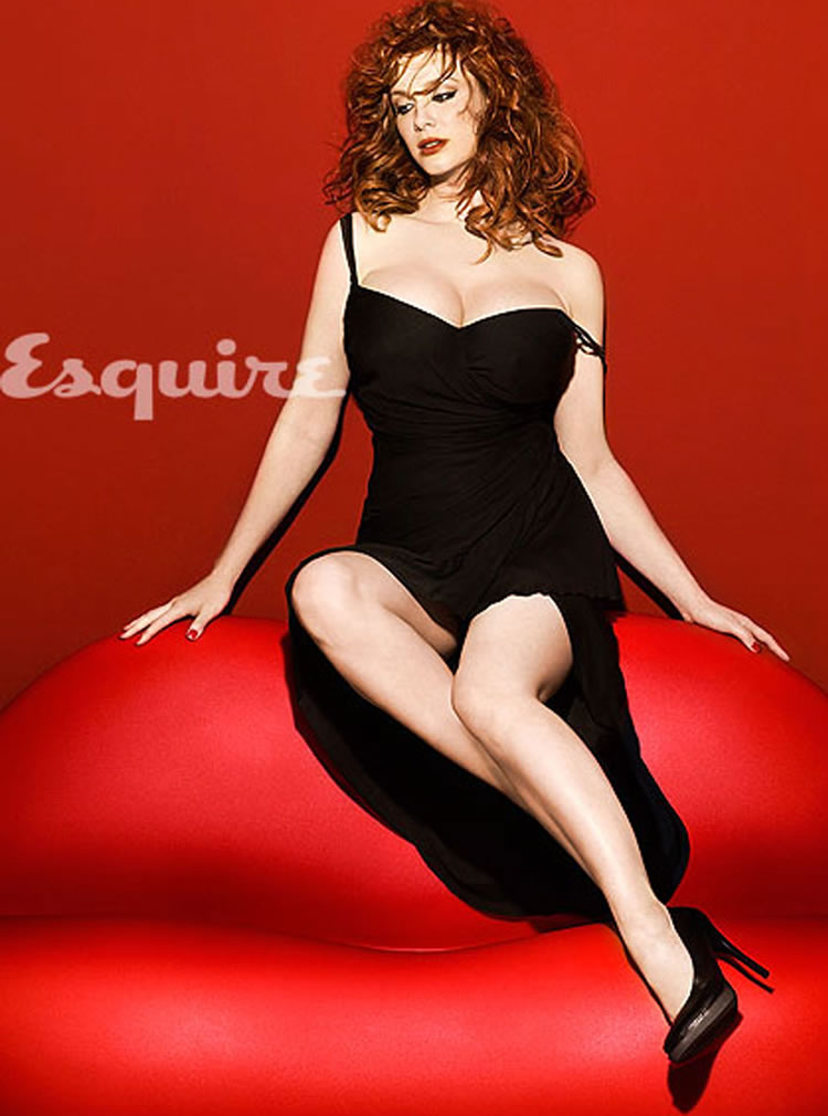 christina hendricks pechos