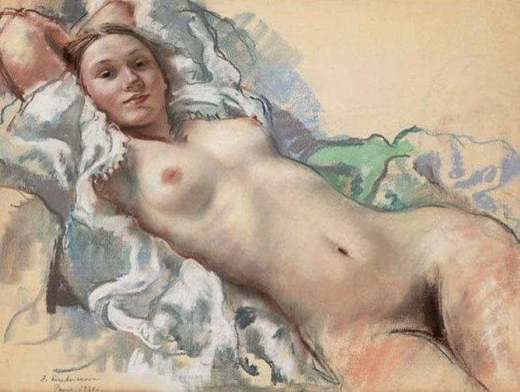 zinaida serebriakova desnudo
