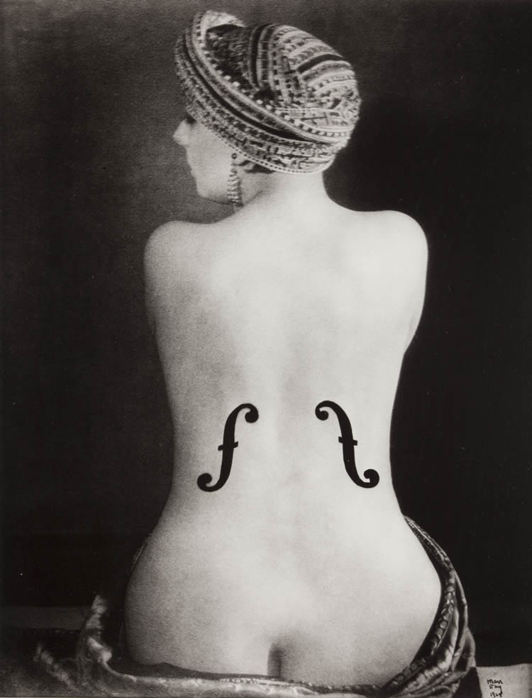 man ray el violin de ingres