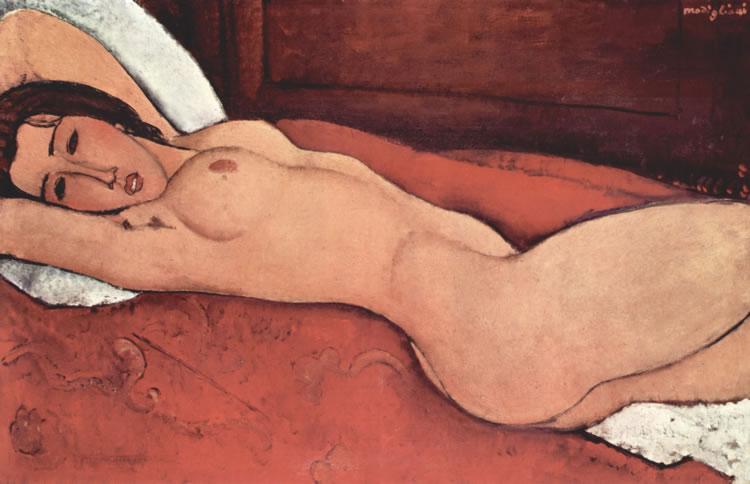 mujer tumbada desnuda