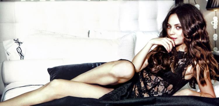 Fotos desnudas para mila Kunis