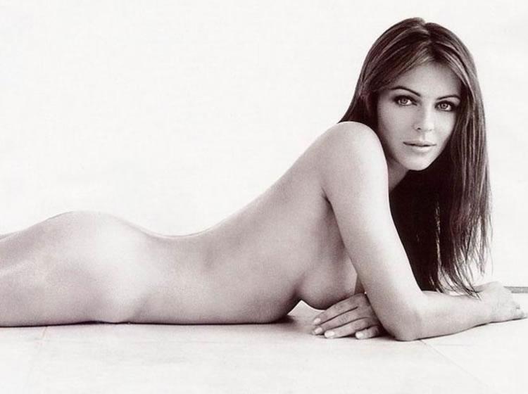 liz hurley desnuda