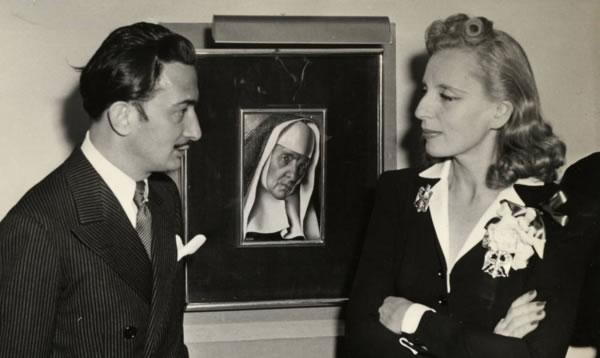 Salvador Dalí y Tamara de Lempicka