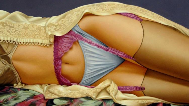 cuadros eróticos de John Kacere