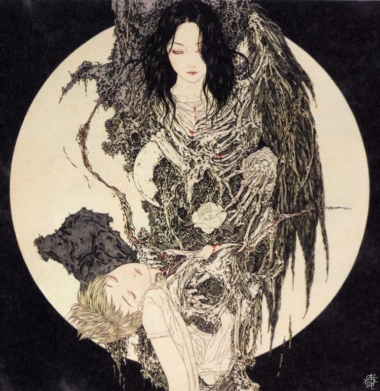ilustración erótica de takato yamamoto